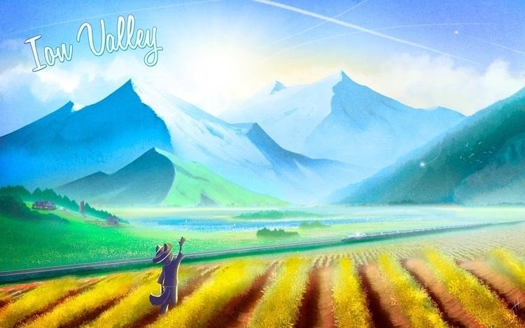 Ion Valley - illustration, cartoon - fxscreamer   ello