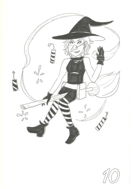10. Wicked Witch - illustration - hotshots2000 | ello