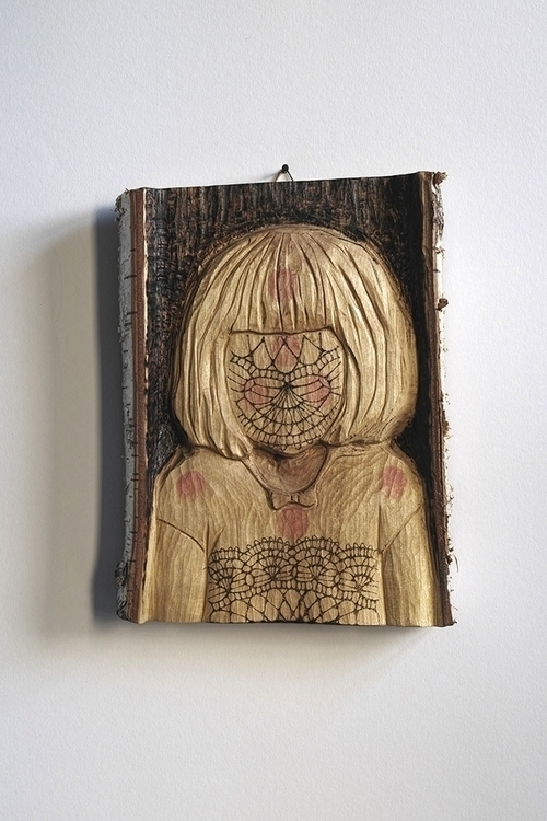 dot girl karo knitter - carving - karoknitter | ello