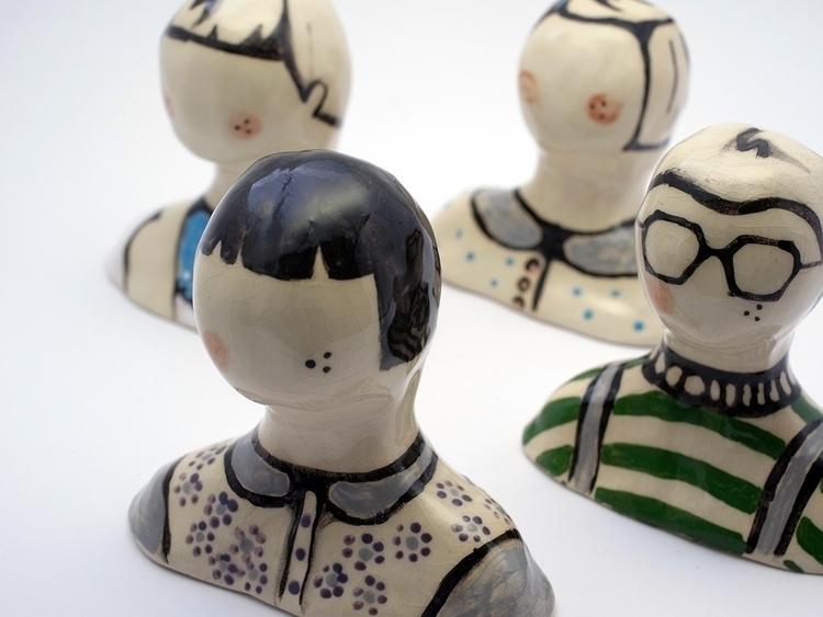 busts karo knitter - clay, bust - karoknitter | ello