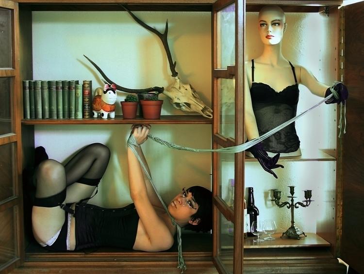 bondage, ironic, photography - luisacatucci | ello