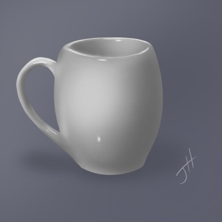 Coffee Cup Life Study - study, stilllife - fxscreamer | ello