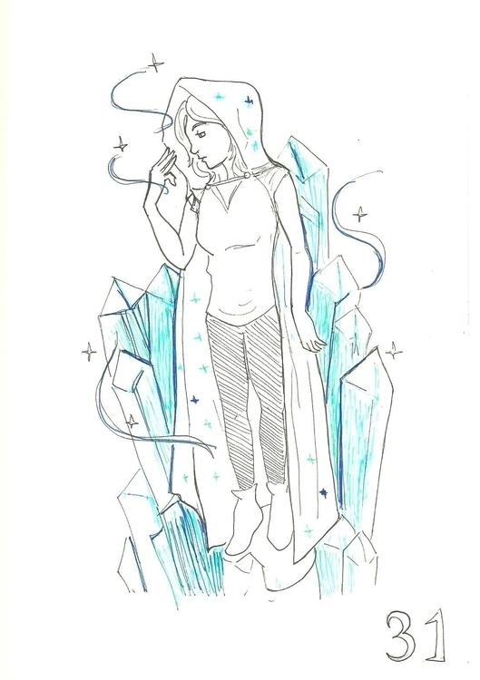 31. Mineral Witch - illustration - hotshots2000   ello