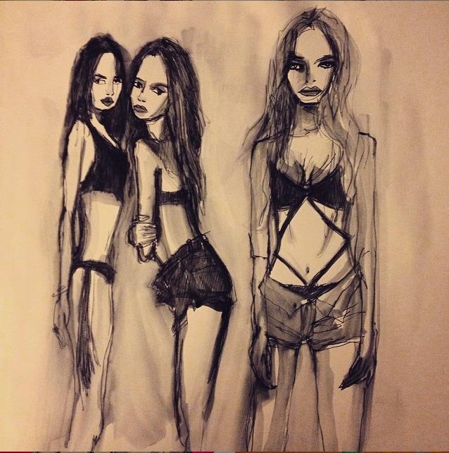 illustration, fashionillustration - eye_catches | ello