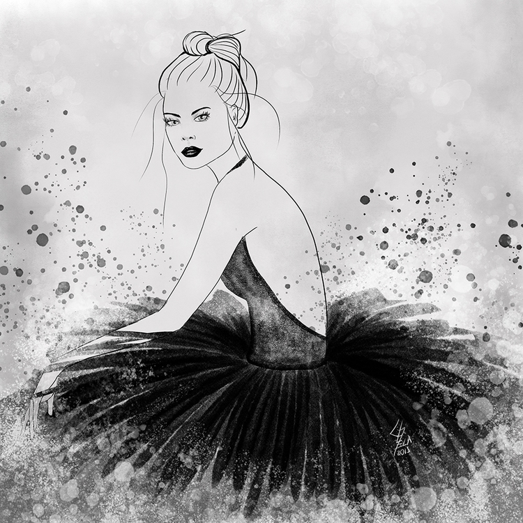 illustration, drawing, fashion - cecilialamela | ello
