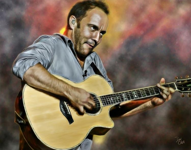 Dave Matthews - digitalpainting - donolea | ello