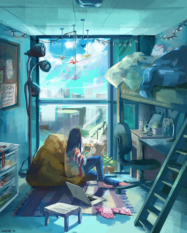 1st windows lifestyle series - illustration - lucyhe   ello
