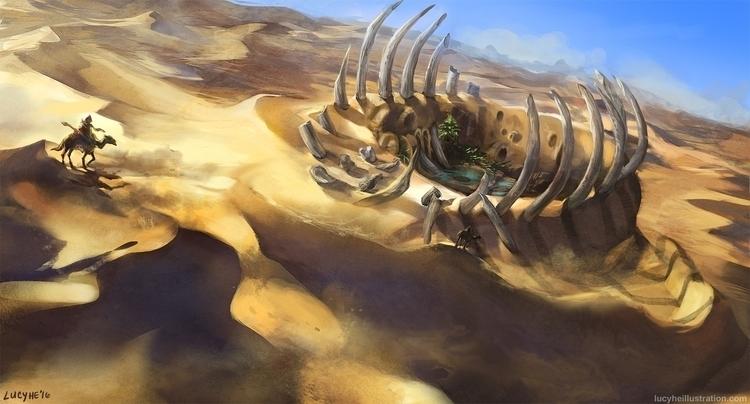 Life Ruins fantasy desert setti - lucyhe | ello