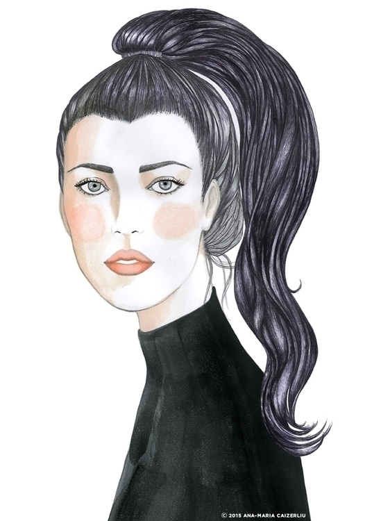 illustration, fashionillustration - anacaizerliu | ello