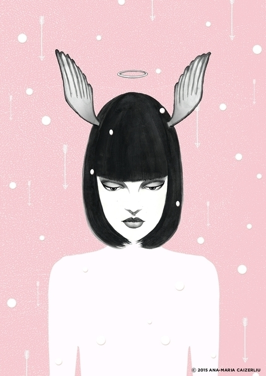 illustration, fashionillustration - anacaizerliu | ello