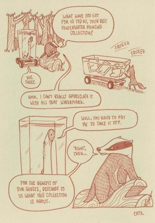 page 5 - brushpen, pittpens, comics - cat-8775 | ello