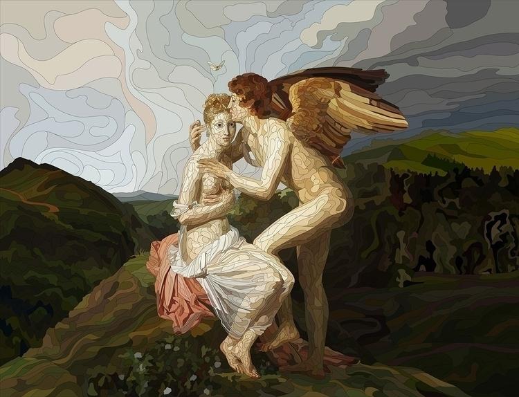 Amur Psyhea - illustration, vectorart - nickolayapraksin   ello