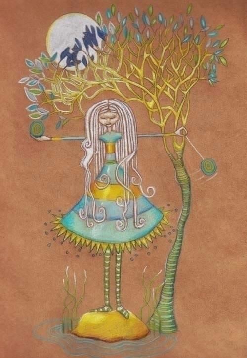 illustration, colourpencils, pencildrawing - susiewonfor | ello