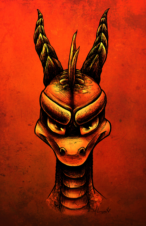 Spyro Dragon. 2015 Michelle Con - mkayconnors | ello