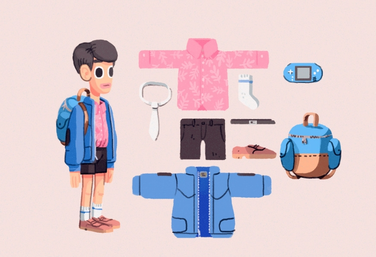 Tild character design - illustration - indiana_jonas | ello