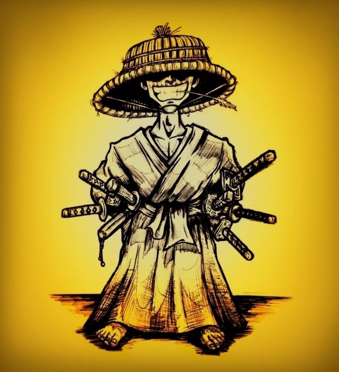 Hachito-Ryu - characterdesign, samurai - theartofsichiu | ello