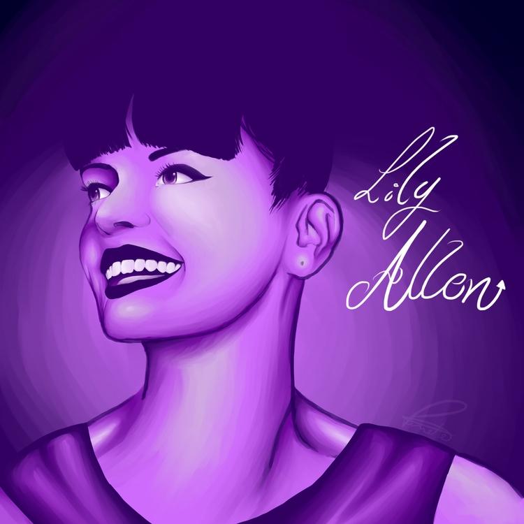 Lily Allen - lilyallen, illustration - vitoriamagalhaesp | ello