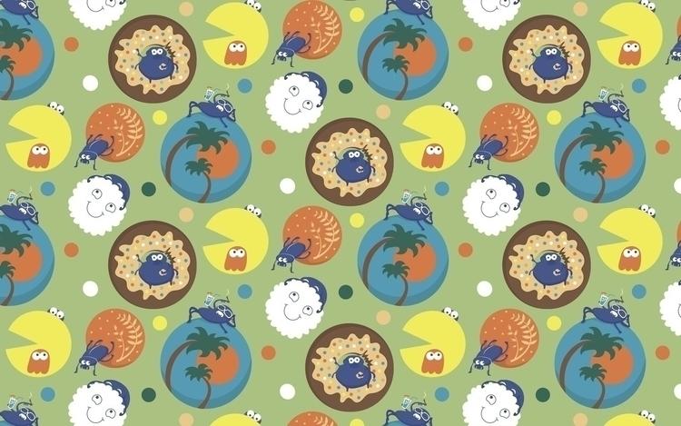 Scarabs Balls - illustration, pacman - ololonycolophony | ello
