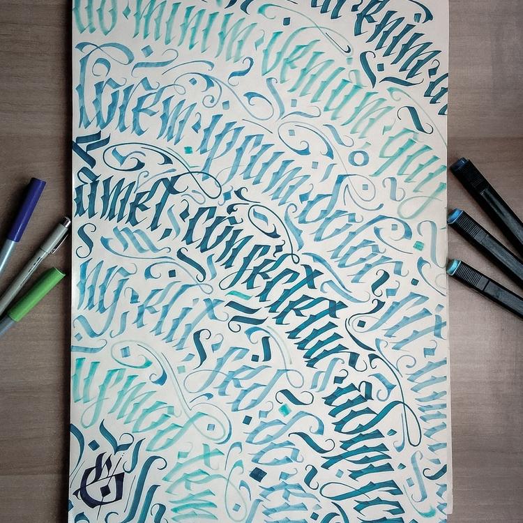 lorem ipsum - lettering, handlettering - leviasen-5051 | ello