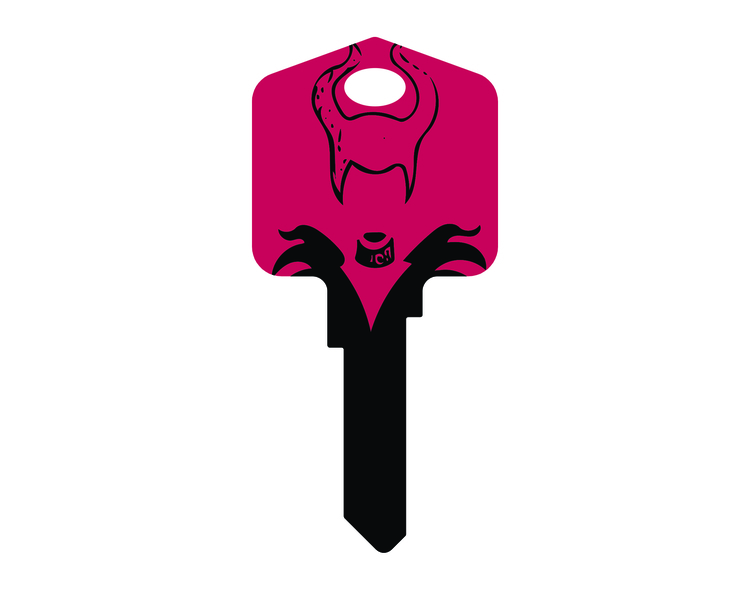 Maleficent Key design - keydesign - designsofmp | ello