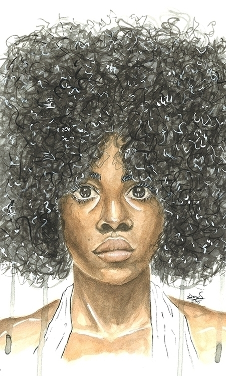 Fro - painting, watercolor, illustration - deviess | ello