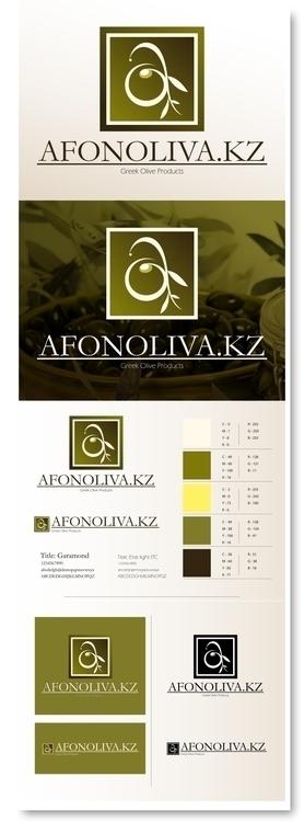 Afonoliva.kz brand - olive, branding - jav4746 | ello