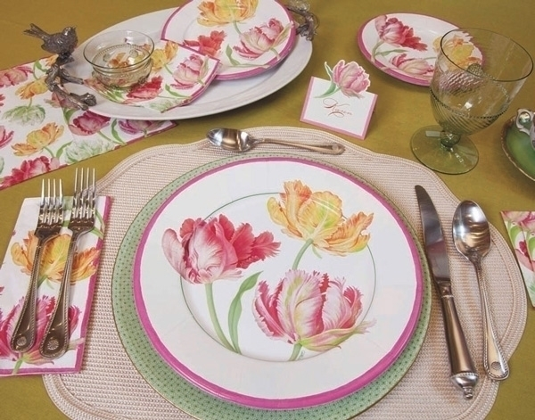 tulips line paper products HG C - karenkluglein | ello