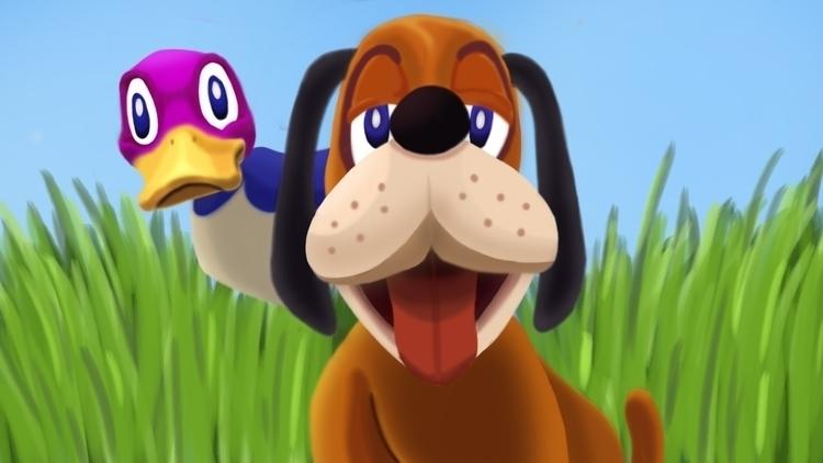 Duck Hunt - duckhunt, smashbros - cslavin   ello