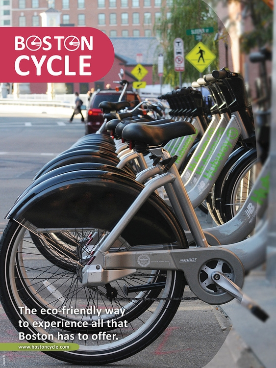 Boston Cycle Brochure - brochure - nicoledean | ello