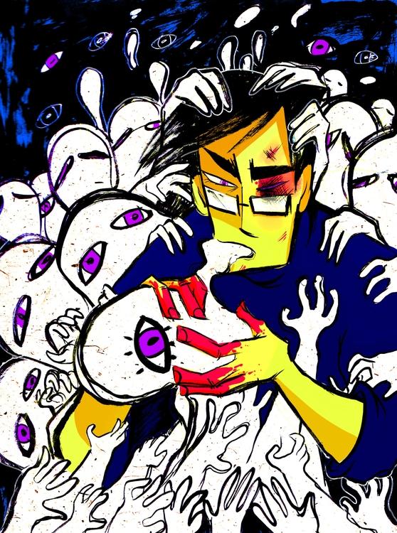 creepy, ghost, gore - fetoscopy | ello