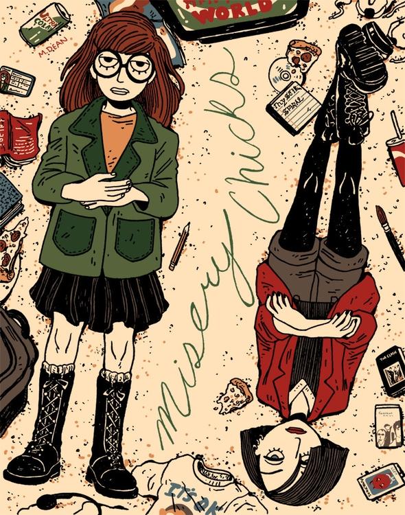 Daria Jane classic 90s cartoon - meedean   ello