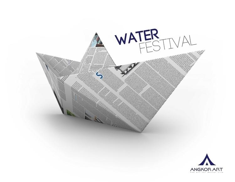 Water Festival Cambodia - #illustration - chanrin | ello