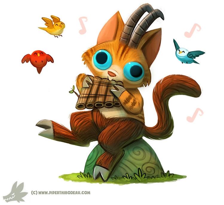 Daily Paint Pan Cat - 1035. - piperthibodeau | ello