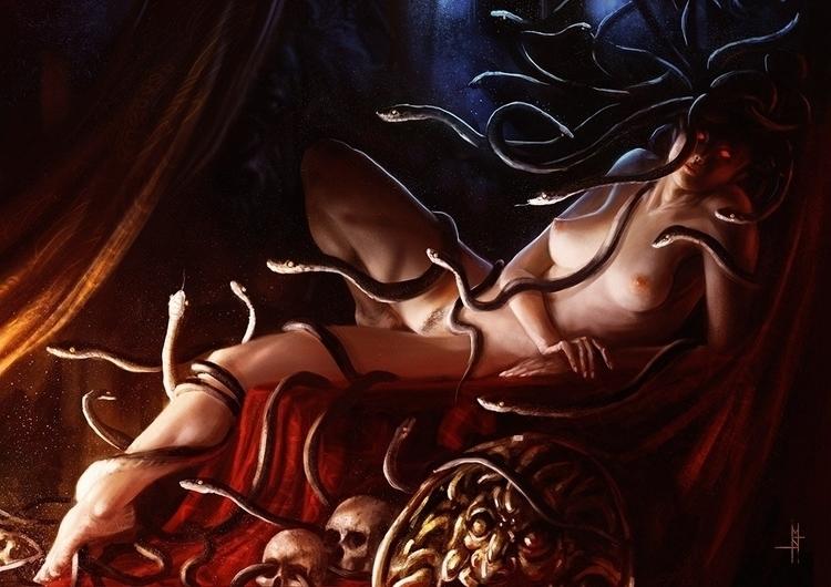 Medusa Personal work - matteospirito | ello