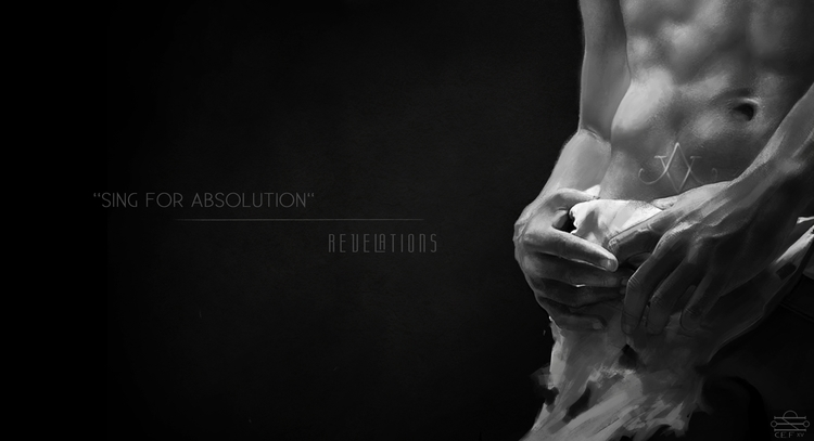 SING ABSOLUTION - illustration, blackandwhite - cef-1340 | ello