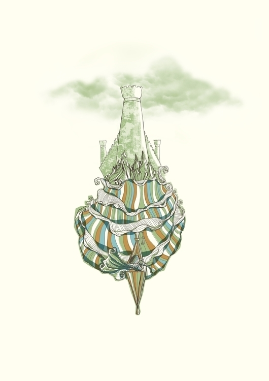 stronghold - illustration, drawing - poormanshield | ello
