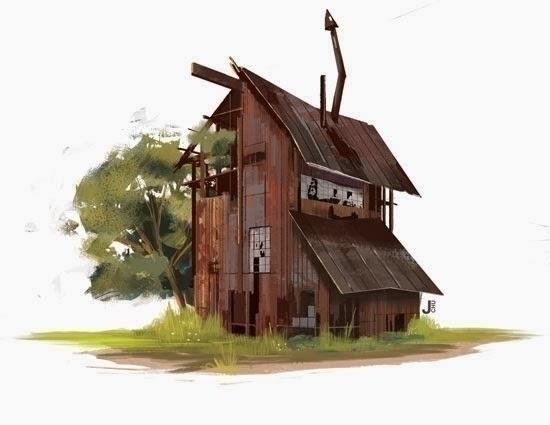 Mill - buildings, visualdevelopment - janicechu | ello