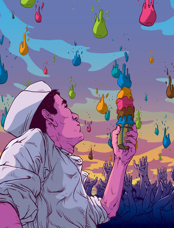 Harvest - illustration, plansponsor - joeyrex | ello