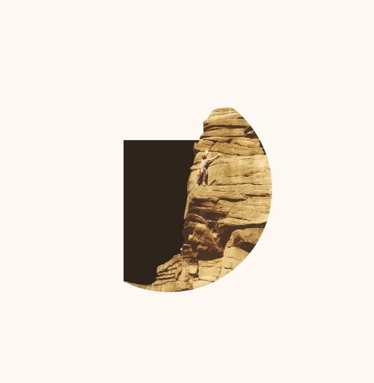 collage, print, climbing, minimal - petermarchant | ello