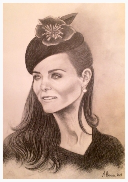 Dutchess Kate - illustration, drawing - andreapiccone | ello