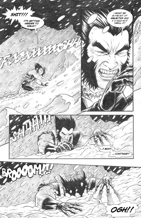Page 11 Nightmare - wolverine, pencil - alexfemenias | ello