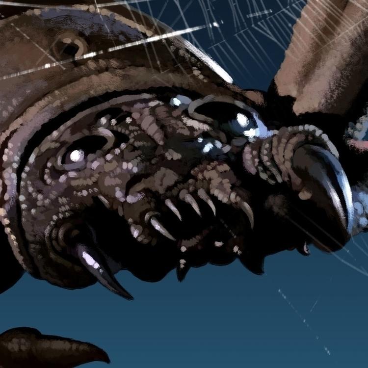 Closeup bug RiffTrax: Arachnia - jasonmartin-1263 | ello
