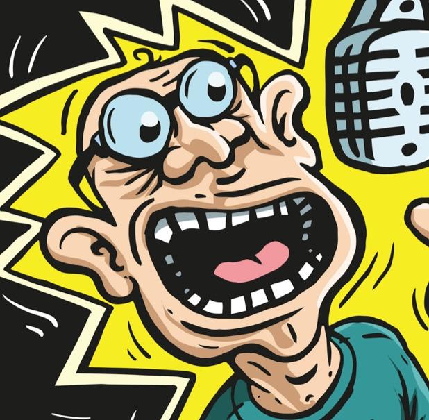 Vector illustration Punks dead - magnifax | ello