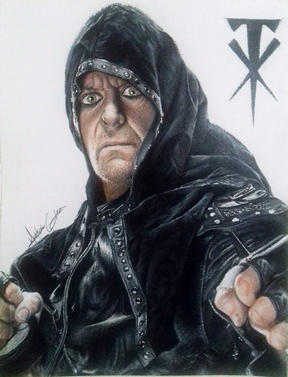 illustration, undertaker, wwe - markyshoglez | ello
