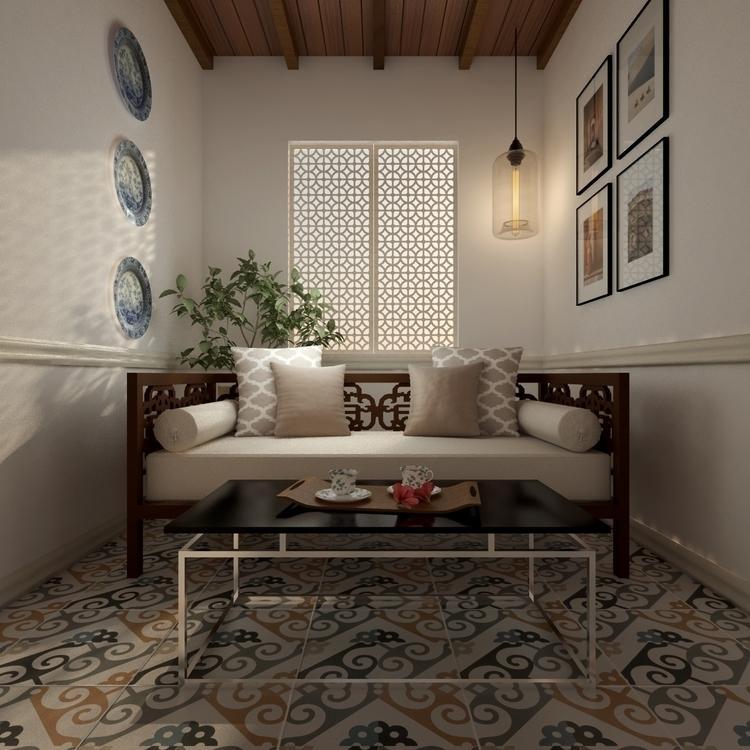 illustration, render, interior - ibrahimh-5225   ello