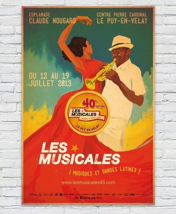 Les Musicales 2013 - illustration - sylvainollier-9768 | ello