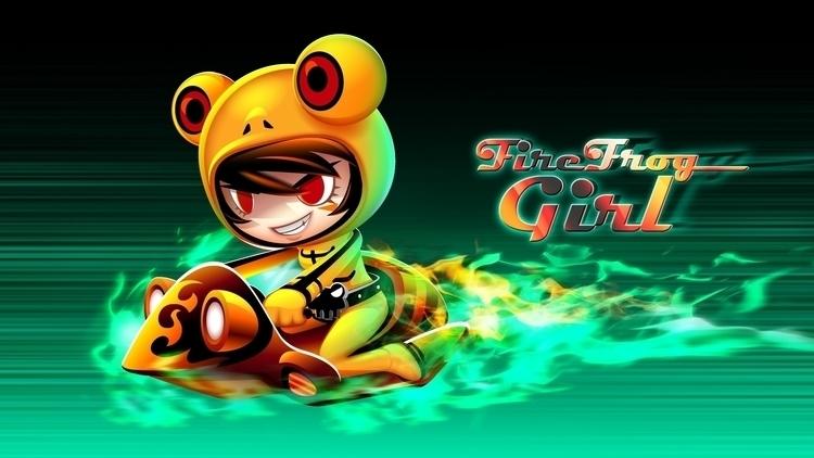Fire Frog Girl - characterdesign - gugggar | ello