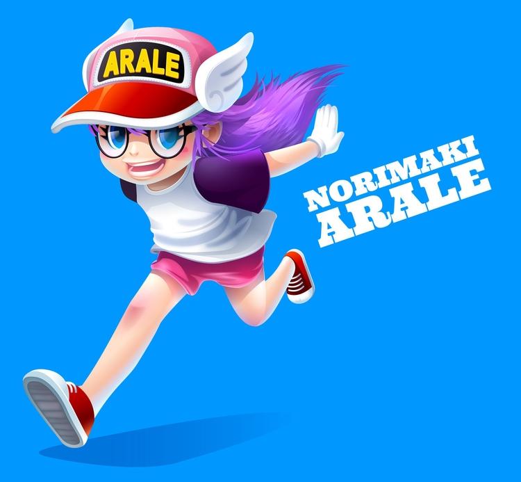 Norimaki Arale~ - fanart - gugggar | ello