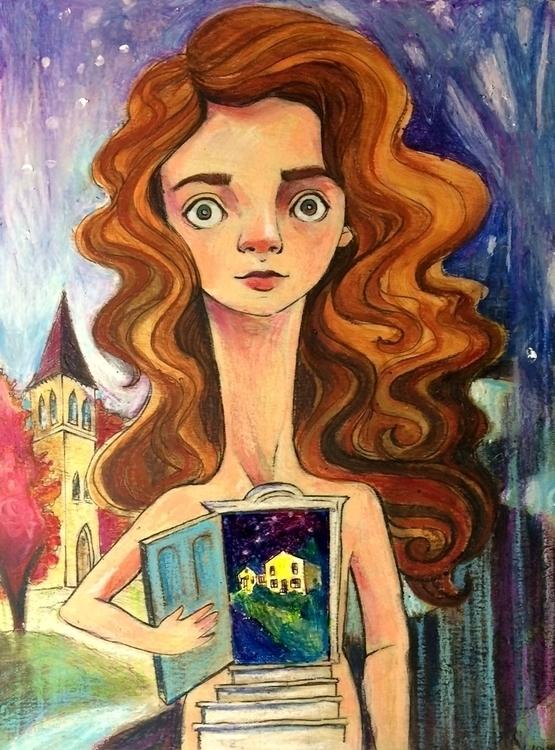 Doorway MacLure - selfportrait, illustration - amaclure   ello