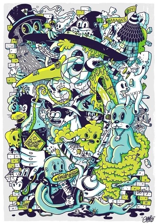 Voodoo - illustration, digitalart - johnnykotze-2524 | ello